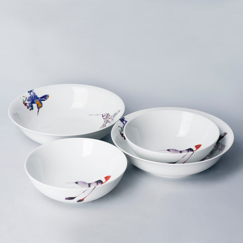 Flutter - 4pc Bundle Serving Set (FLR)