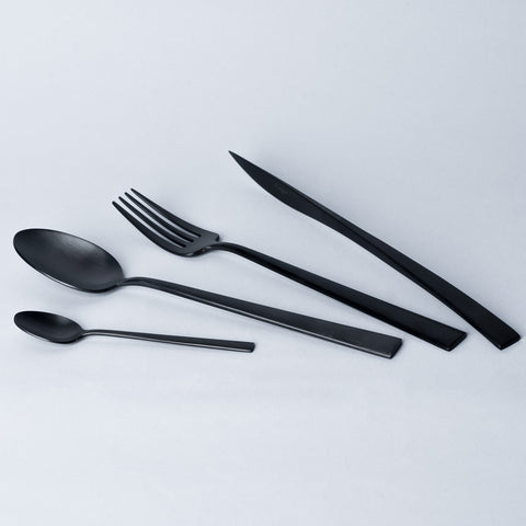 Cutipol - 16pc Bundle for 4 People - Duna (M.Black)