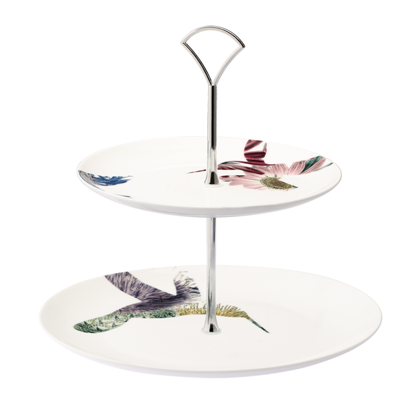 Flutter 2-Tier Cake Stand (Assorted)