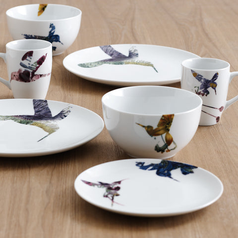 Flutter 16pc Dinner Set