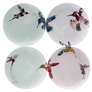 Flutter Set of 4 Assorted 21cm Salad Plates (Assorted)