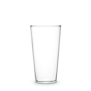 Urban Glass 150ml Narrow Tumbler (clear/black)