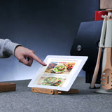 Prep+ Bamboo Cookbook / Tablet Stand