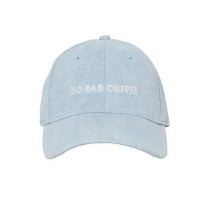 Coffee Extremists Denim Dad's Hat (No Bad Coffee)