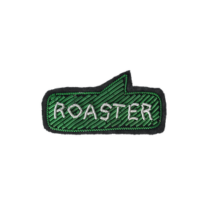 Coffee Extremists Pattern Embroidered Pin (Roaster)