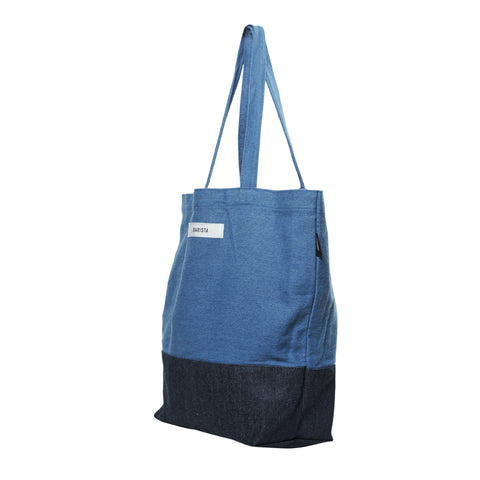 Coffee Extremists Denim Tote Bag (Barista)