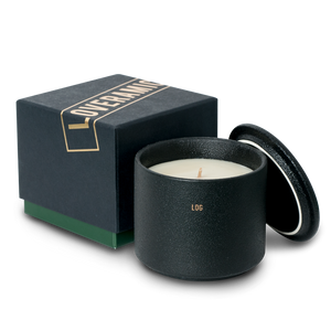 The Candle Scented Candle (Log) (Black)