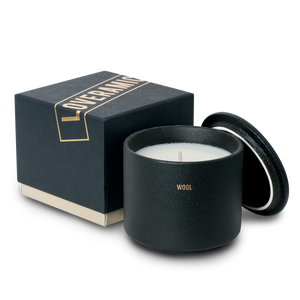 The Candle Scented Candle (Wool) (Black)