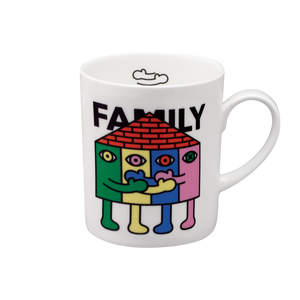 We Love Mugs 3 380ml Mug (Family) (Pattern)