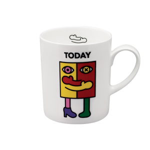 We Love Mugs 3 380ml Mug (Hug Today) (Pattern)