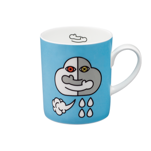 We Love Mugs 3 380ml Mug (Hugging Clouds) (Pattern)