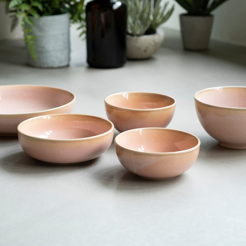 Er-go! 14cm Low Bowl (L) (Rose)