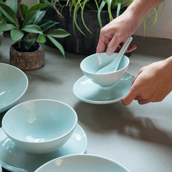 Studio 11.5cm Rice Bowl (Celadon Blue)