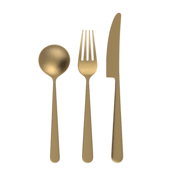 Chateau - 12pc Cutlery Set - Western (3 colour options)
