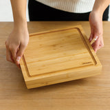 Prep+ 2-way Chopping Board (25 x 24 x 3 cm)