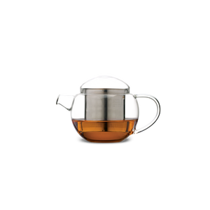 Pro Tea 400ml Glass Teapot with Infuser (Clear)