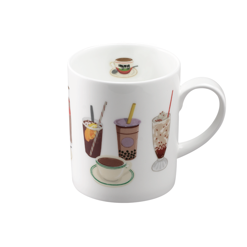We Love Mugs 3 380ml Mug (HK Drinks) (Pattern)