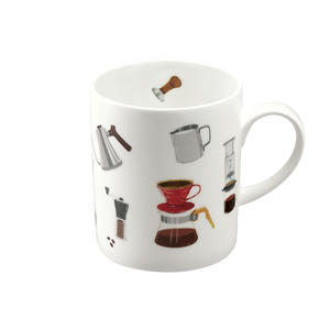 We Love Mugs 3 380ml Mug (Coffee) (Pattern)