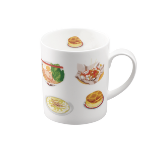 We Love Mugs 3 380ml Mug (HK Breakfast) (Pattern)