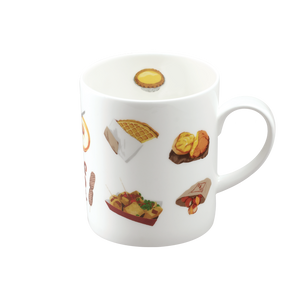 We Love Mugs 3 380ml Mug (HK Street Food) (Pattern)