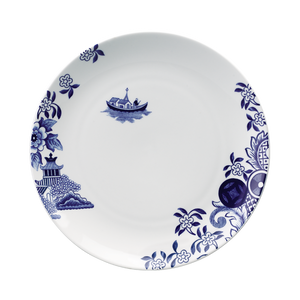 Willow Love Story 27cm Dinner Plate (Blue)