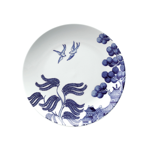 Willow Love Story 21cm Salad Plate (Blue)