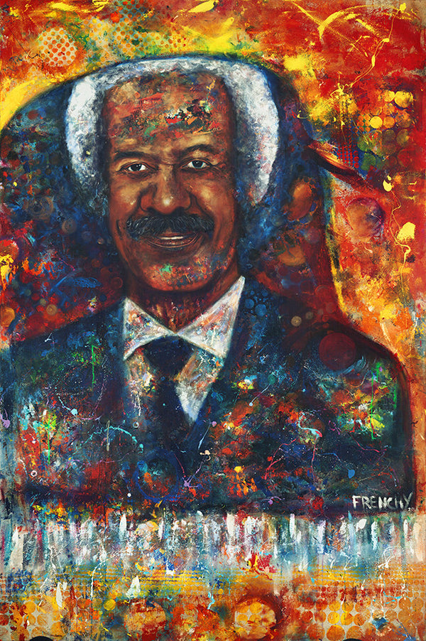 Allen Toussaint Abstract