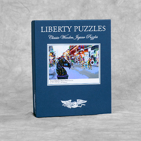 Liberty Puzzle - French Quarter Horse Post