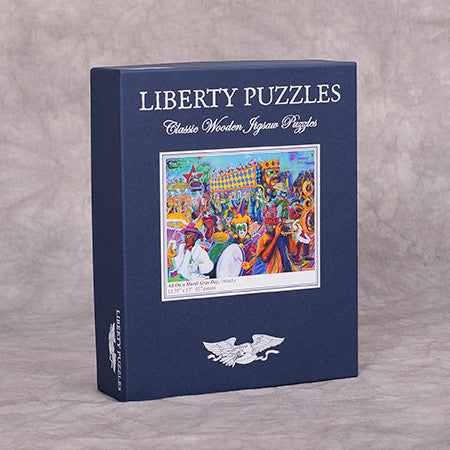 Liberty Puzzle - All on a Mardi Gras Day