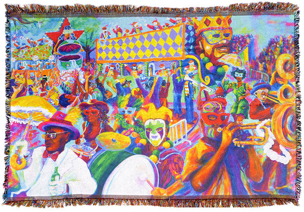 All On A Mardi Gras Day - Blanket
