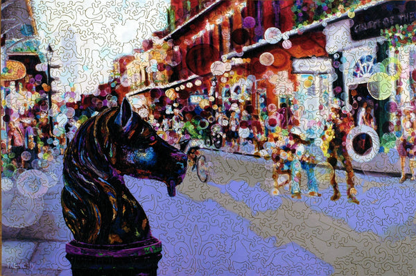 Jigsaw Puzzle Maker >> Liberty Puzzle - French Quarter Horse Post – Frenchylive ...