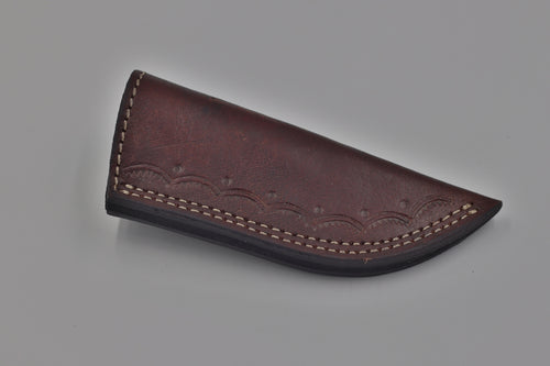 Slick leather Sheath