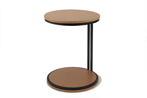 Discus Steel Cork Table