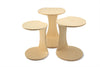 Double-O Nesting Tables