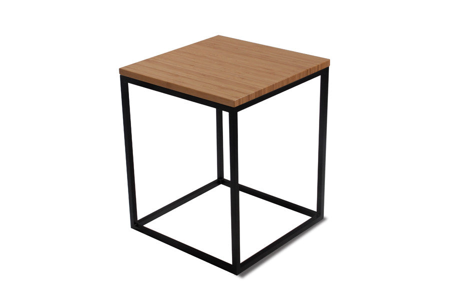 Nimbus Bamboo Square Side Table