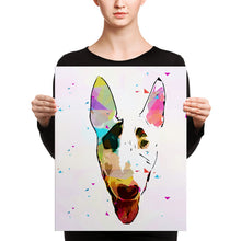 Load image into Gallery viewer, Custom Pet Art WPAP Wall Gallery Canvas