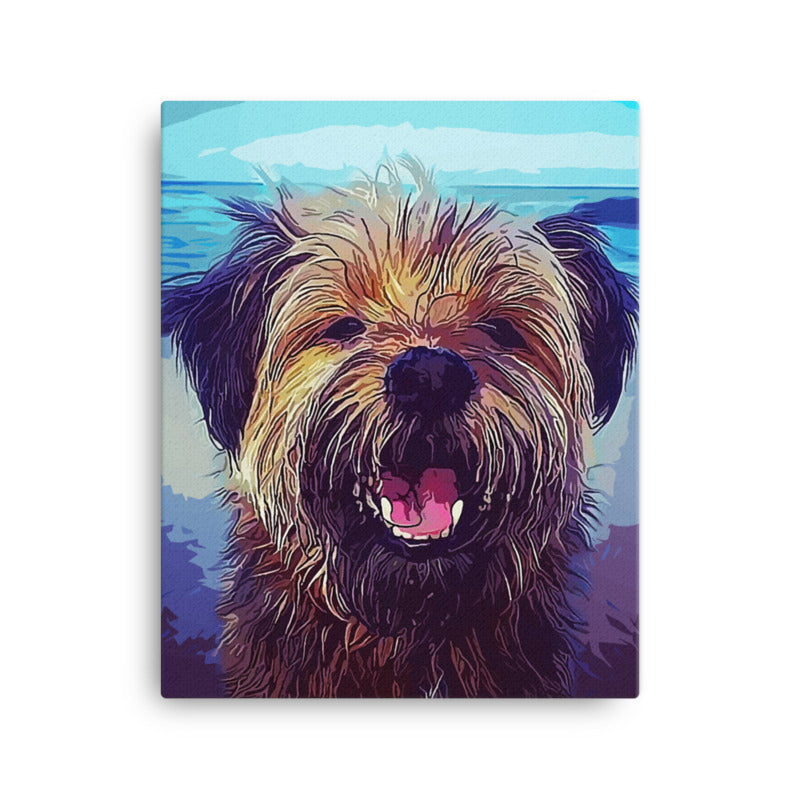 Custom Pet Art Wall Gallery Canvas