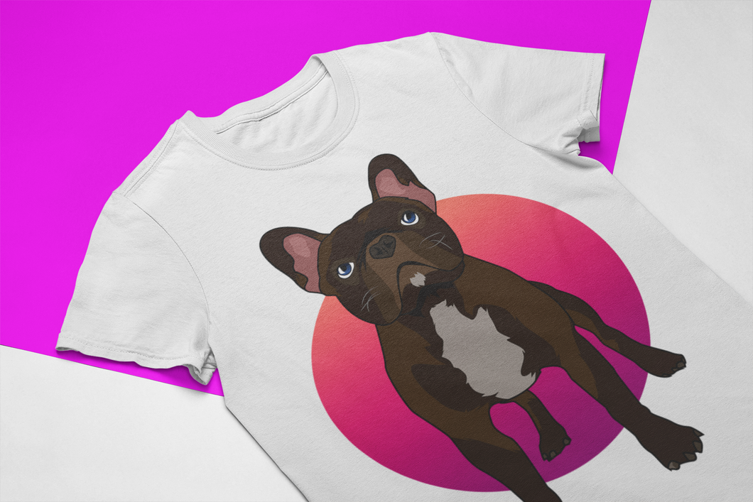Custom PopArt Women´s T-Shirt (Featuring Your Pet)