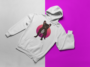 Custom PopArt Unisex Hoodie (Featuring Your Pet)