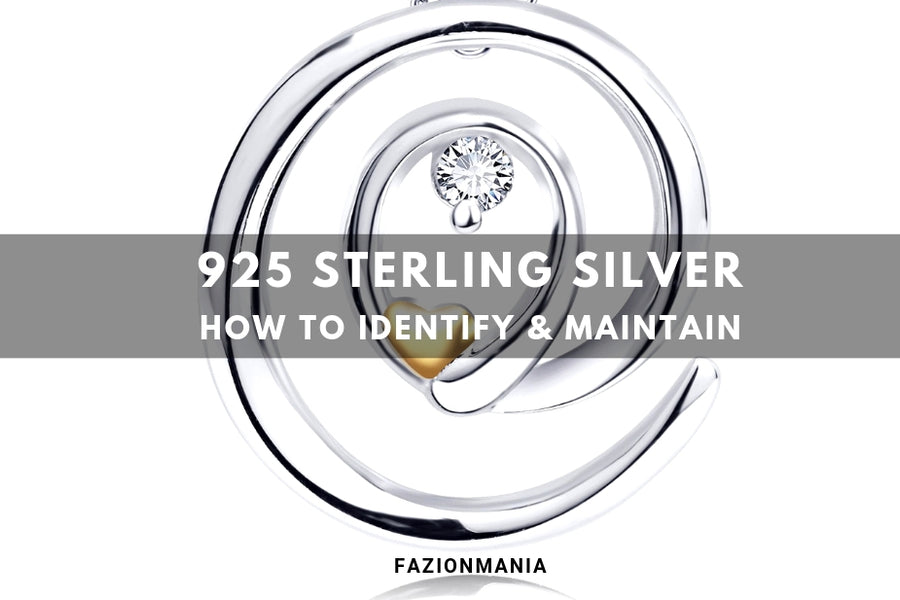 925 Sterling Silver Jewelry Collection – How to Identify and Maintain