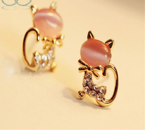 Cute Cat Earring