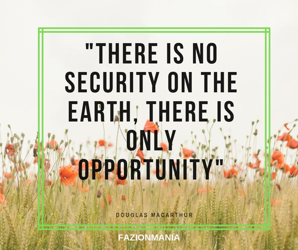 No Security Only Opportunity