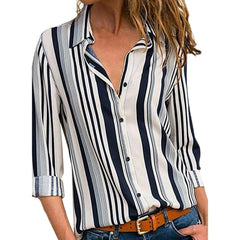 Stripe Long sleeves Shirt
