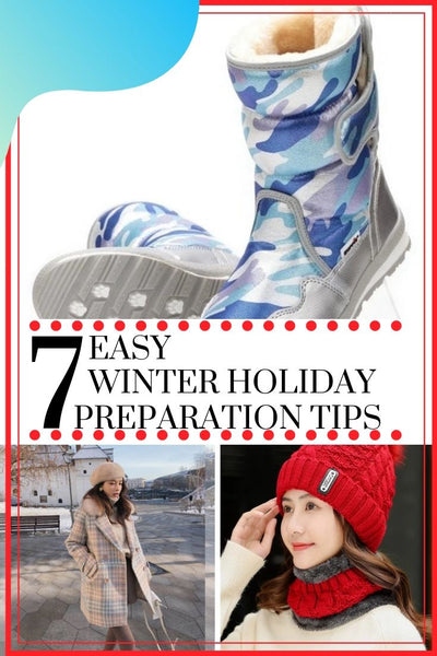 7 Easy Winter Holiday Preparation Tips