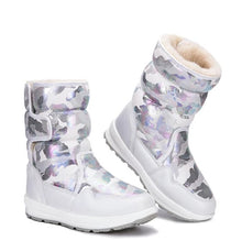 Load image into Gallery viewer, Boys Camouflage Style Boots Winter Shoes