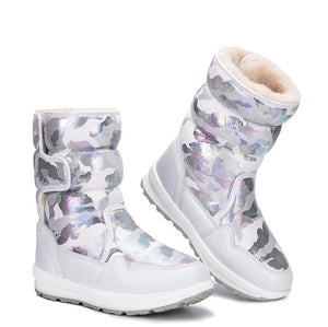Boys Camouflage Style Boots Winter Shoes