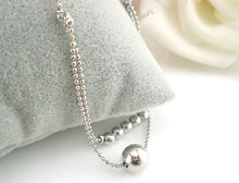 Load image into Gallery viewer, Double-strand Smooth Ball Chain Anklet Bracelet