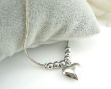 Load image into Gallery viewer, Heart-shaped Dolphins Anklet Bracelet