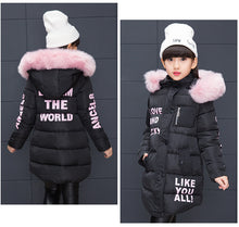 Load image into Gallery viewer, Girl Cool Winter Cotton Jacket