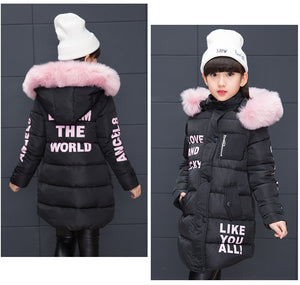 Girl Cool Winter Cotton Jacket